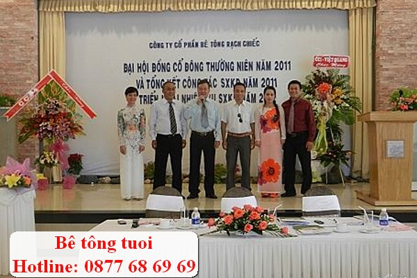 Gía bê tông tươi Rạch Chiếc ở Quận Bình Tân TPHCM