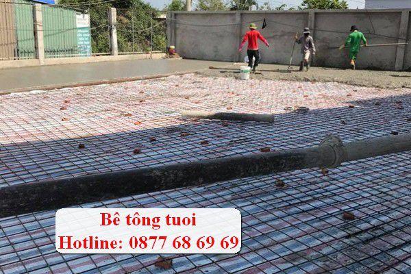 Gía bê tông tươi TPHCM